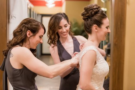 Wedding Dress, Bridal party, Sisters, Maid of Honor
